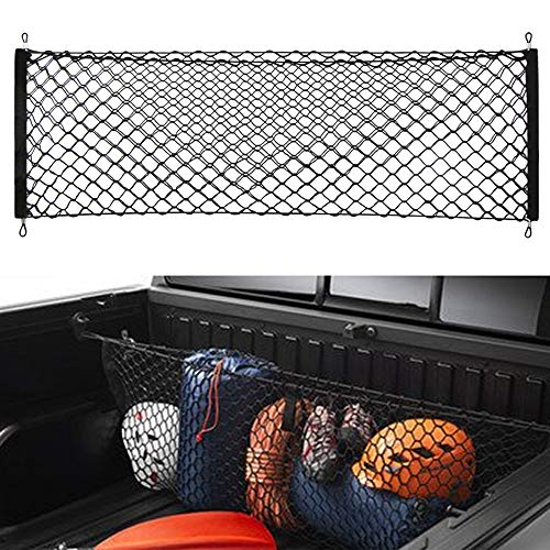 - POZEL Trunk Envelope Style Cargo Net for Chevy Silverado 2007-2018