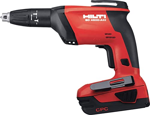 Hilti SD 4500-A18 CPC Cordless High Speed Drywall Screwdriver – 3497783