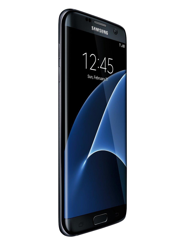 Samsung Galaxy S7 EDGE G935V 32GB, Verizon/GSM Unlocked, (Renewed) (Black)