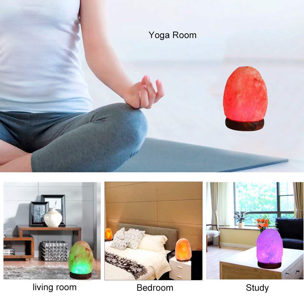 Amazon.com: Fanhao - Lámpara de sal del Himalaya USB ...