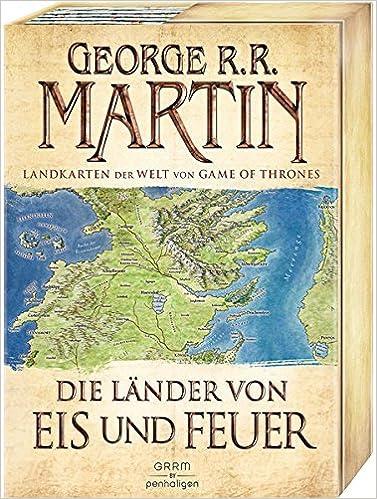 Die Lander Von Eis Und Feuer 12 Vierfarbige Landkarten Der Welt
