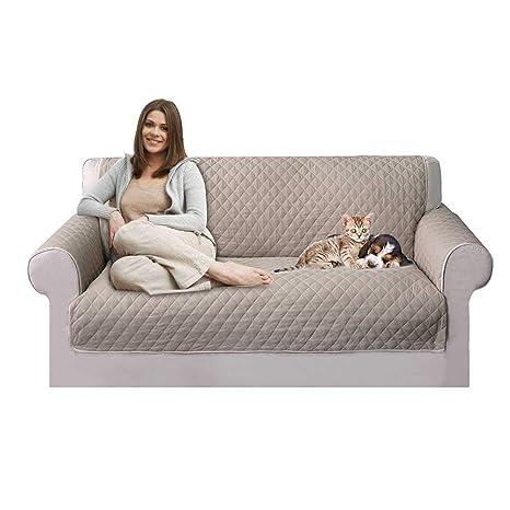 KOBWA Funda de sofá, Fundas de Sof&Aacute, Funda Impermeable de Silla de sofá para