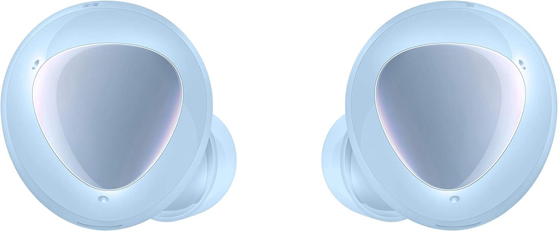 Samsung SM-R175NZBA Galaxy Buds+ - Auriculares Inalámbricos (Con Micrófono, Bluetooth, Ambient Sound, Tecnología AKG) Color Azul [Versión Española], 17.5 mm