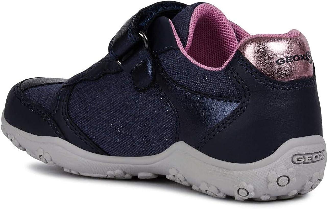 Geox Adalyn Girl J926BA Fille Baskets Mode,Slipon,Lassie Chaussures,Chaussures de Sport,Pantoufles,/élastique,Klettverschuss