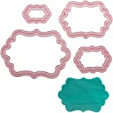 Sweet Elite Tools- Dottie Frame Cutter Set for Rolled Fondant, Gumpaste or Cookies by Marina Sousa