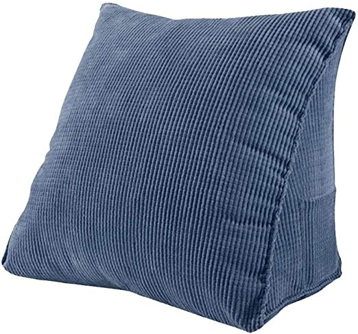 Amazon Com Triangle Wedge Pillow Back Support Cushion Reading