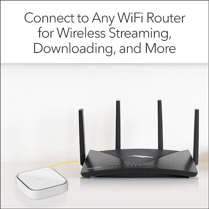 LAX20   1,500 sq ft NETGEAR Nighthawk 4-Stream AX4 WiFi 6 Router ...