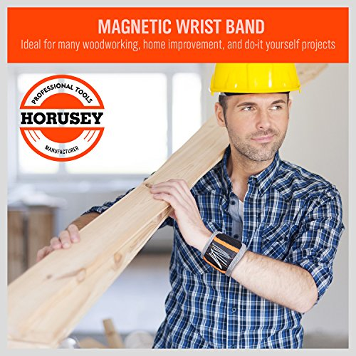 HORUSDY-Magnetic-Wristband-with-Strong-Magnets-for-Holding-Screws-Nails-Drilling-Bits-of-The-Best-Christmas-Gifts-Tools-for-Men
