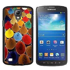 EJOOY---Cubierta de la caja de protección para la piel dura ** Samsung Galaxy S4 Active i9295 ** --Especias India cocina colores de pintura Mercado