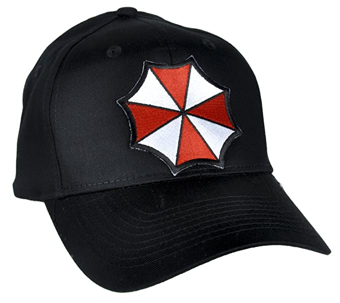 316aaad359ab72 Image Unavailable. Image not available for. Colour: Resident Evil Umbrella  Corporation Hat Baseball Cap Alternative Clothing