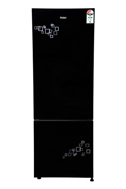 Haier 345 L 3 Star   2019   Frost Free Double Door Refrigerator  HRB 3654PMG E, Silver  Refrigerators