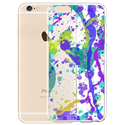 Amazoncom Jackson Pollock Wallpaper Clear Phone Case For