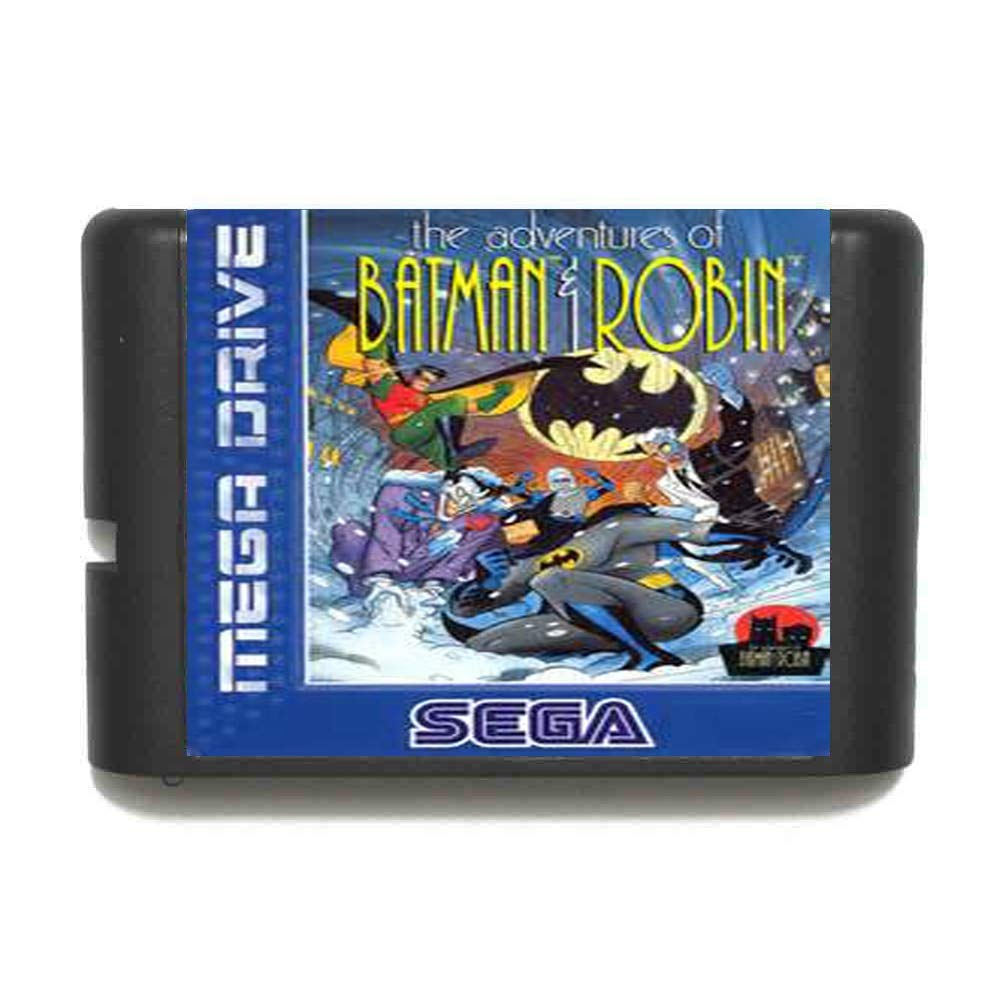 ROMGame The Adventure Of Batman And Robin 16 Bit Md Game Card For Sega Mega Drive For Genesis