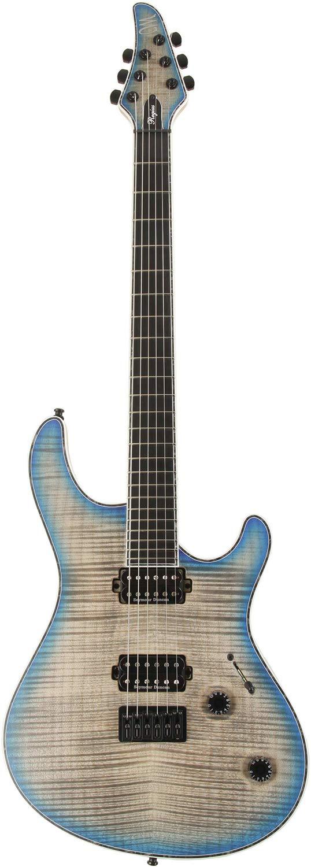 MAYONES メイワンズ エレキギター Regius 6 5A Flame Maple Top Custom Blue Burst   B07KC9QQ38