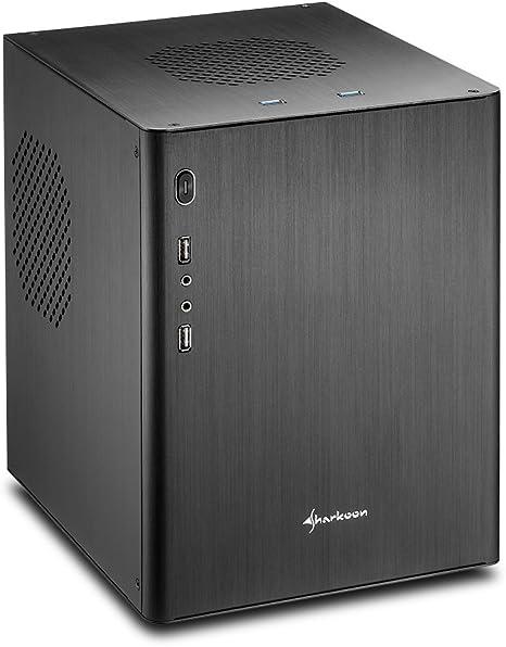 Sharkoon CA-M Mini-Tower Negro Carcasa de Ordenador - Caja de ...