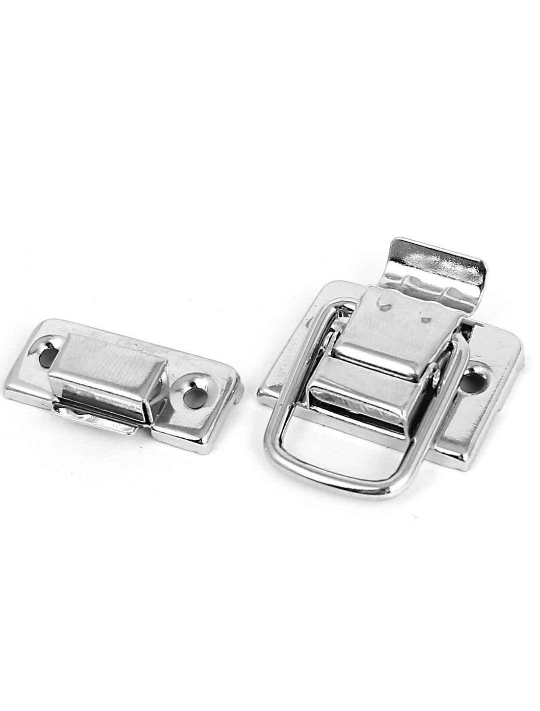 Amazon.com: Cajas maleta cofres del tronco palanca de la cerradura de pestillo tono 5pcs captura de Plata: Kitchen & Dining