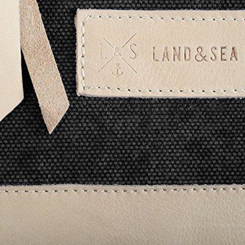 Land and Sea - Cartera de mano para mujer negro negro