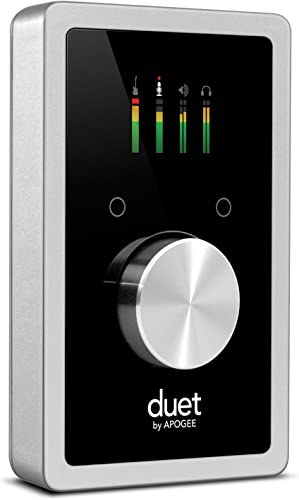 Apogee Duet 2 - 2 Channel USB Audio Interface for Recording Mics, Guitars, Keyboards on MAC and iOS Devices