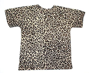 eace99770b Image Unavailable. Image not available for. Colour: BabywearUK Leopard  print T-Shirt ...