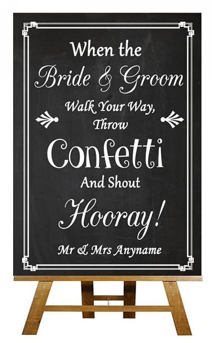 Pizarra para invitados de boda personalizada A5 vintage ...
