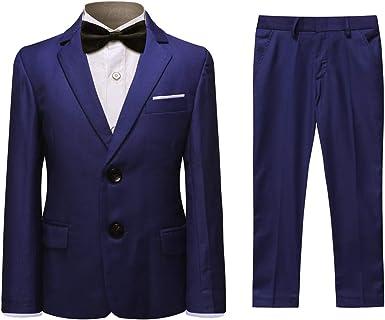 Men Blazer Coat+Pants Slim Fit  Formal Business Tuxedos Suit Blaze Party Wedding