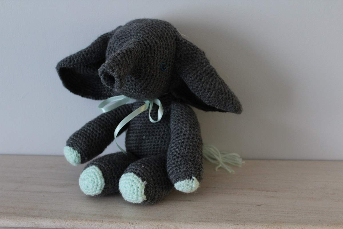Unique Crocheted Elephant
