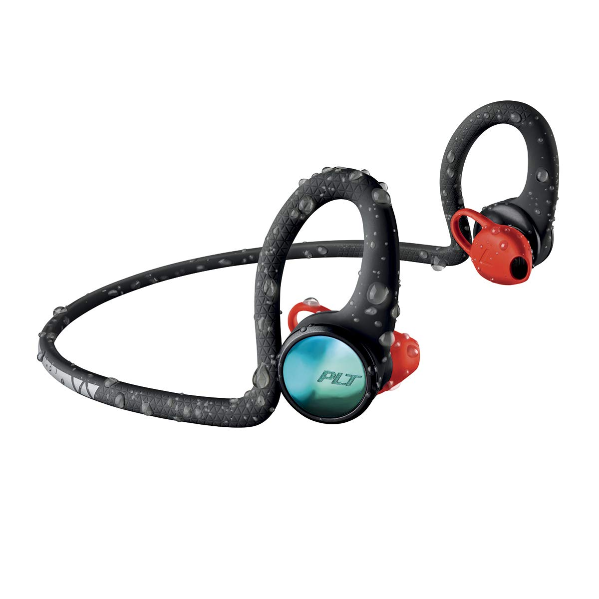 Plantronics BackBeat Fit 2100 Bluetooth - Auriculares Deportivos, In-Ear, Negro, Uni
