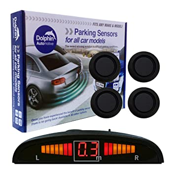 Dolphin DMS400 Micro Size Reverse Parking Sensors Pearl White Auto Express Award Winning In 9 Colours