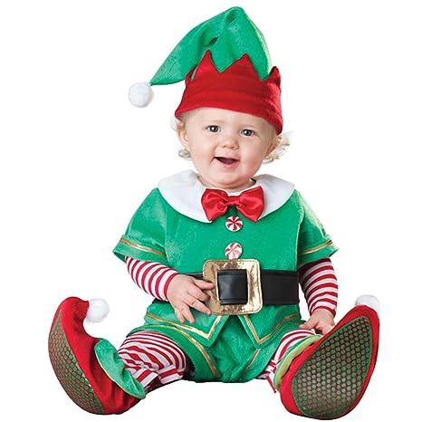 Bebé Navidad Conjuntos de Ropa, Mameluco + Sombrero + Zapatos ...
