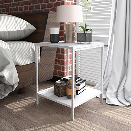 Kitchen Living Room Pass Through See Description: Lifewit Small 2-Tier Side Table End Table Beside Sofa