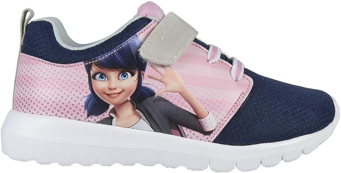 27 Les Aventures De Ladybug Et Chat Noir 2300002965 Chaussons Sneaker Fille Rose Baskets Mode Miraculous