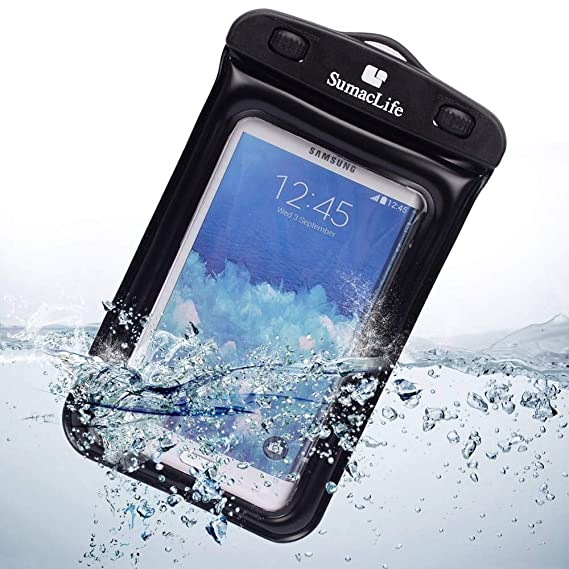 half off 68b82 3d483 Waterproof Phone Case Underwater Dry Case Bag for Samsung Galaxy  J3/On6/J4/J6/S Light Luxury/S8 Lite/S Lite/A6/J7 Prime 2/J7 Duo/S9/S9+/J2  Pro/On7 ...