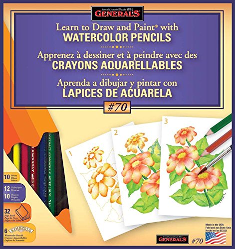 General Pencil Learn Watercolor Techniques product image