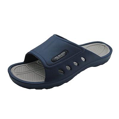 Amazon.com | Air Light & Comfortable Men's Classy Shower Beach Sandal Slippers | Slippers