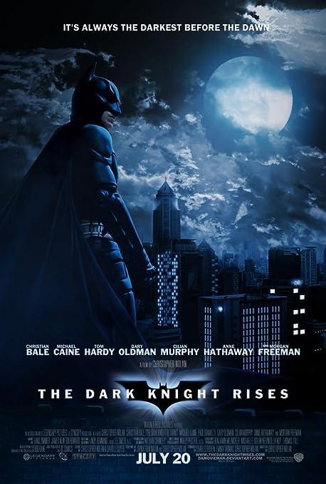 The Dark Knight Rises Batman 14x21 inch Plastic Poster ...