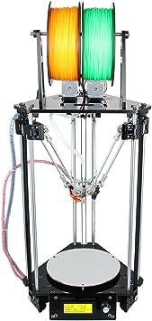 WER Impresora 3D DIY Kit Delta Rostock mini-G2s, Impresora 3D ...