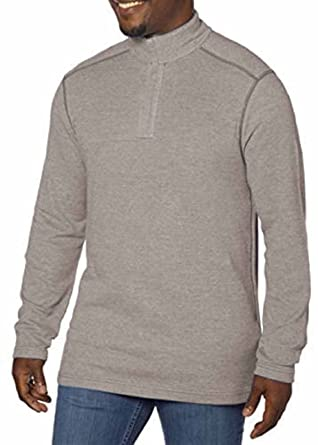 Amazon.com: Kirkland Signature Men's Pima Cotton 1/4 Zip Pullover ...