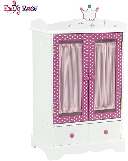 Amazon Com Emily Rose 18 Inch Doll Closet For Doll Clothes