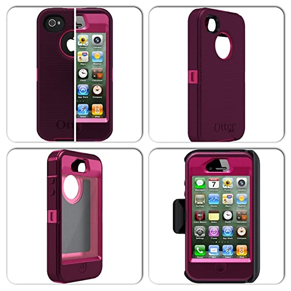 d0c39b692a6d0b Image Unavailable. Image not available for. Color  OtterBox Defender Series  Case for iPhone 4 4S ...