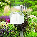 Whitehall Products Balmoral Mailbox, White