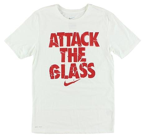 innovative design 969bc b6206 Amazon.com  Nike Mens Dri-Fit Attack The Glass Graphic Shirt  Sports   Outdoors
