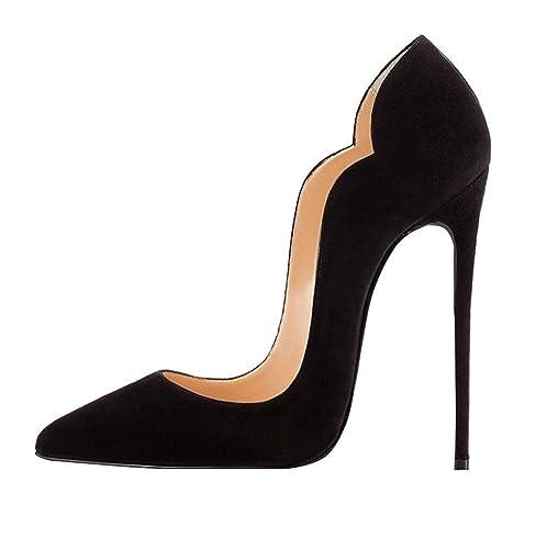 EDEFS - Scarpe da donna - Scarpe col tacco - Scarpe donna Nero - Tacco A 669637e35ae