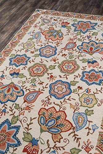 Safavieh Casablanca Collection CSB894A Ivory and Green Area Rug, 3 x 5