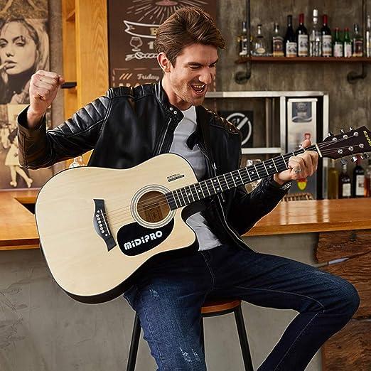 Guitarras Guitarra Madera Color Guitarra Acústica Guitarra Chapa ...