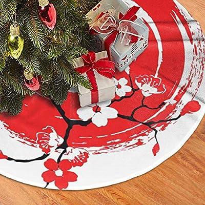 Pengyong Sun Sakura - Falda de árbol de Navidad para decoración de ...