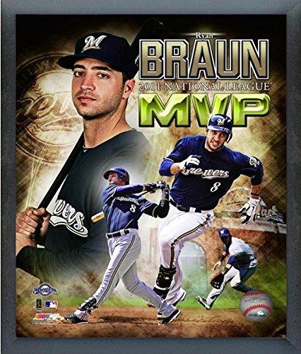 Ryan Braun Milwaukee Brewers 2011 AL MVP Photo (Size: 12