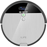 ILIFE Robot Vacuum. V8s, 2-in-1 Mopping,Big 750ml Dustbin,Enhanced Suction Inlet,ZigZag Cleaning Path,Ideal for Pet Hair…