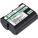 Powerextra ニコン Nikon EN-EL15 純正互換バッテリー Nikon D600,D610,D800,D800E,D810,D7100 対応 残量表示可能&純正充電器対応