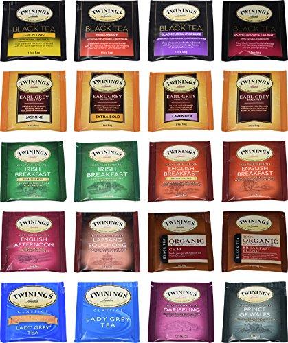 Twinings Tea Bags Sampler Assortment - Blue Ribbon Tea