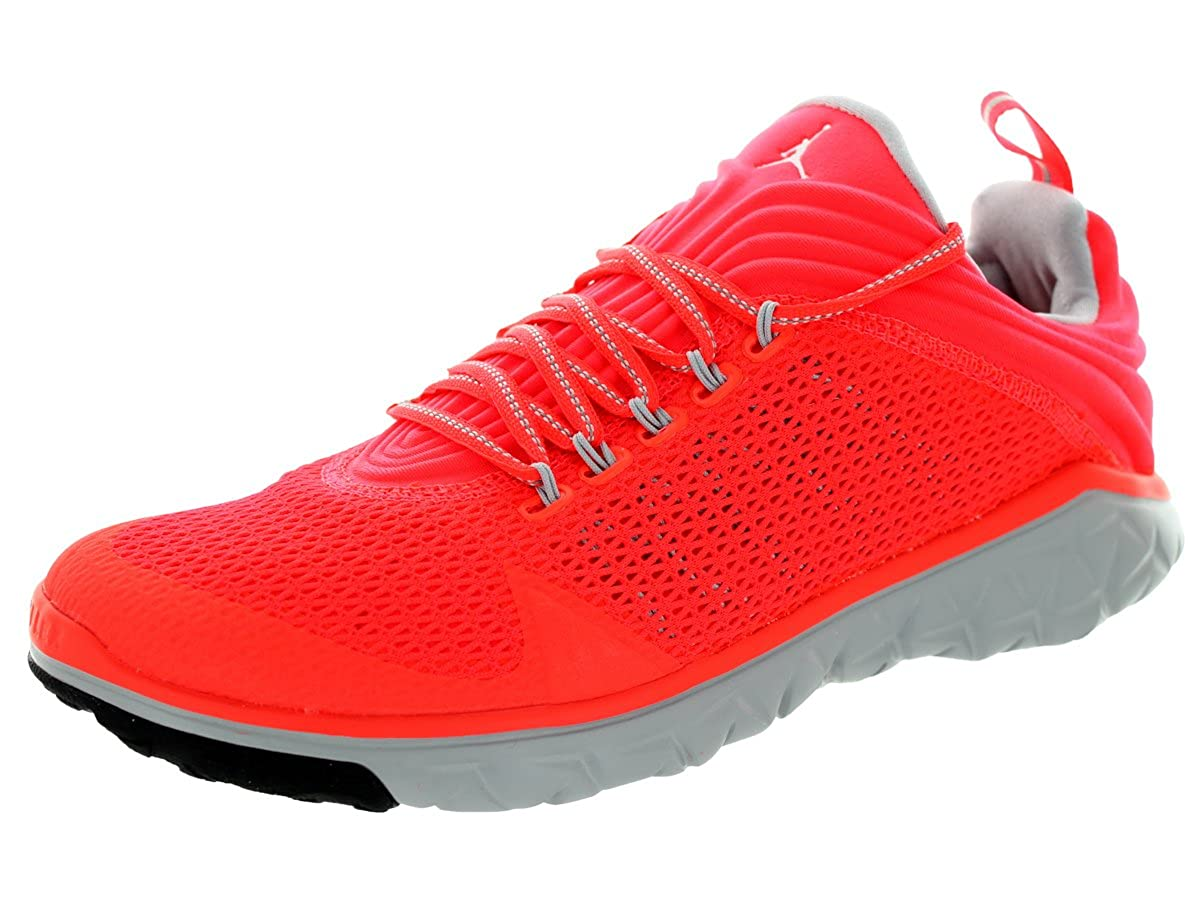Nike Air Jordan Flight Flex Trainer Trainer Trainer Aktuelles Modell schwarz grau Orange weiß dd9205
